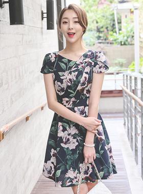 迷迭香花连衣裙