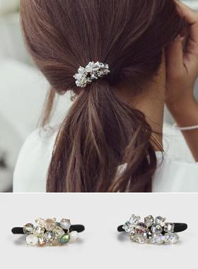 多彩发带珠串