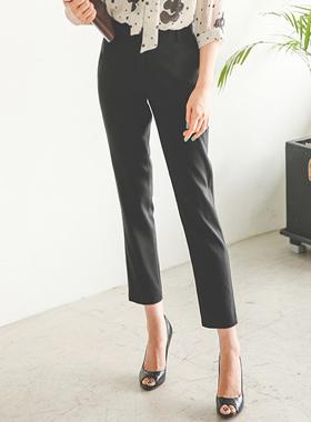 基本的后部带宽松长裤