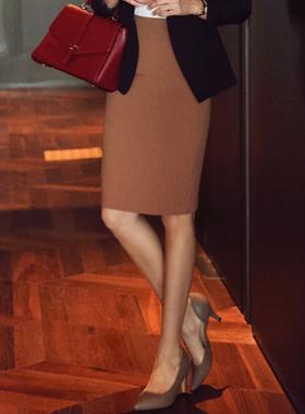 基本的高腰裙子