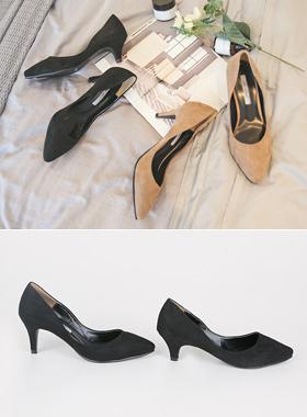 每日翻毛皮中间浅口式鞋(5厘米/ 7cm以下)