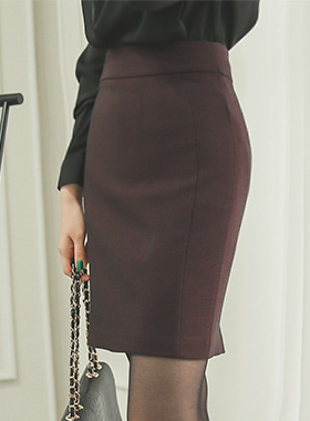 简单切口^ h线条裙子
