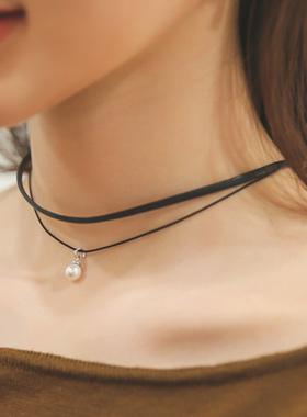 珍珠项链点项链