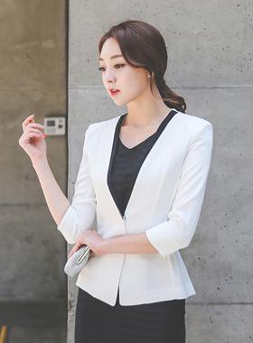 简单配色纯色7款夹克