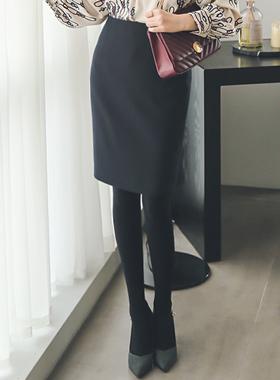 办公室^ h线条裙子(冬季)
