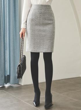 羊绒触摸羊毛裙子