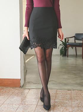裙绣花裙刷蕾丝
