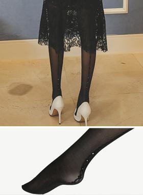 立方绳背线袜