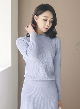 Raemseuul圆领针织衫