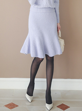 Raemseuul针织衫美人鱼裙子