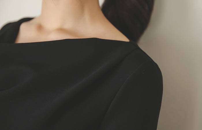 连衣裙披罩脖子