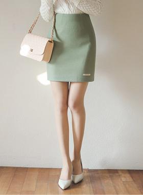 Jaenyu羊毛呢子年轻裙子