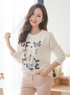 花蝴蝶Ť恤衫
