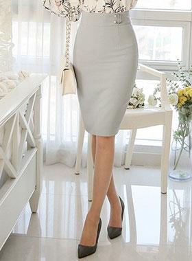 珍珠hapeuring修身裙子