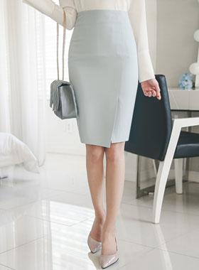 正式粉彩不规则裙子