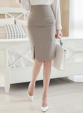 纯棉质地缝裙子