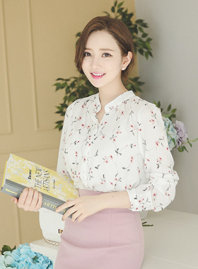 甜蜜花女衬衫
