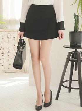 层褶裙裤西裤(春季)