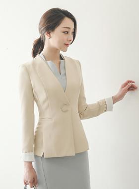 现代新月缝外套