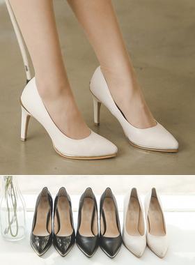 奢华裙脚跟泵黄金秘诀