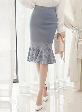 古董针织衫美人鱼裙子