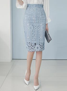 帕拉斯蕾丝裙子