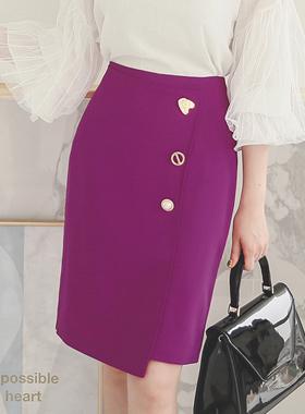 多色按钮正式裹裙