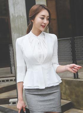 简单的双页面梅花外套(7长袖)
