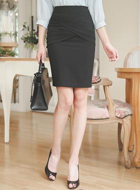 层褶裙郁金香实验室正式裙子