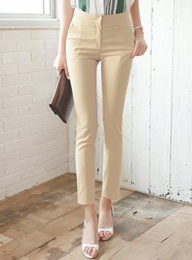 清凉商务正式修身宽松长裤