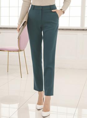 后现代直宽松长裤