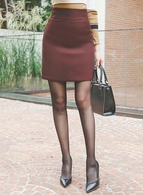 简单斜纹奥维多裙子
