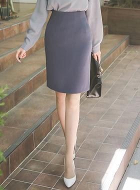 马西斯弹力^ h线条裙子