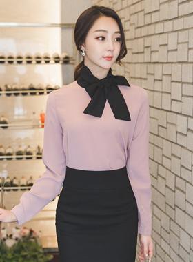 莫赖厄·布莱克领带围巾女衬衫