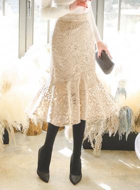 美人鱼精品蕾丝裙子