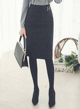 正式金属装饰品ħ线条裙子