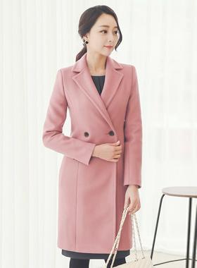 现代缝泰勒羊毛大衣