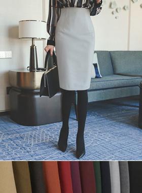雅顿高腰裙子(冬季)