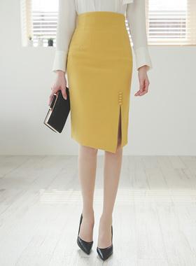 豆类按钮马里昂缝裙子