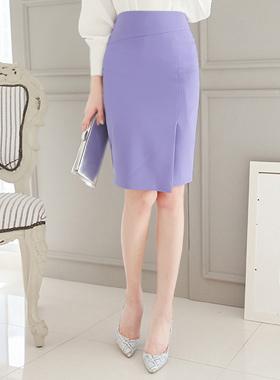 Uncut incision紫红裙子