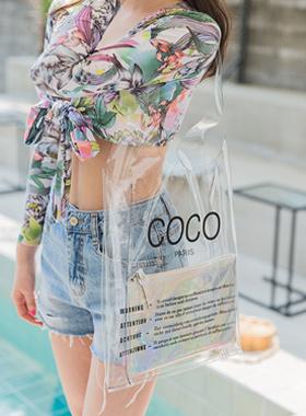 科科透明环保袋(化妆包SET)