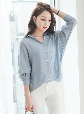 优质透明衬衫女衬衫