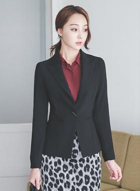 Office Tailored西装领型单身外套