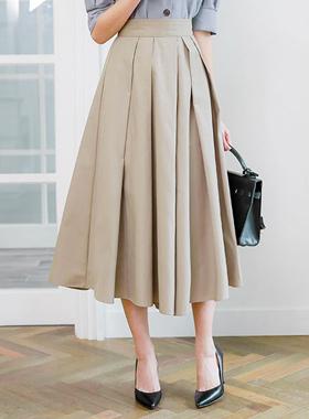 独特的针尾波组/喇叭裙裙子短