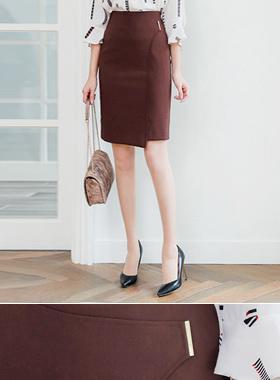 Dana Gold Stick H Line裙子
