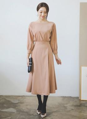 Vivian Shirring Hull衣衣裙