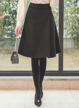 Agnes A线羊毛裙II
