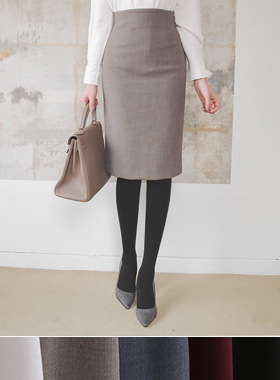 奶油色高腰裙Ⅱ