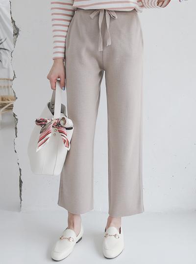 Neutral柔丝宽针织衫短裤