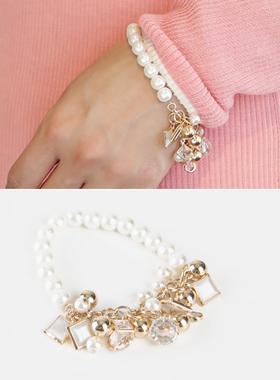 捆绑珍珠镯子